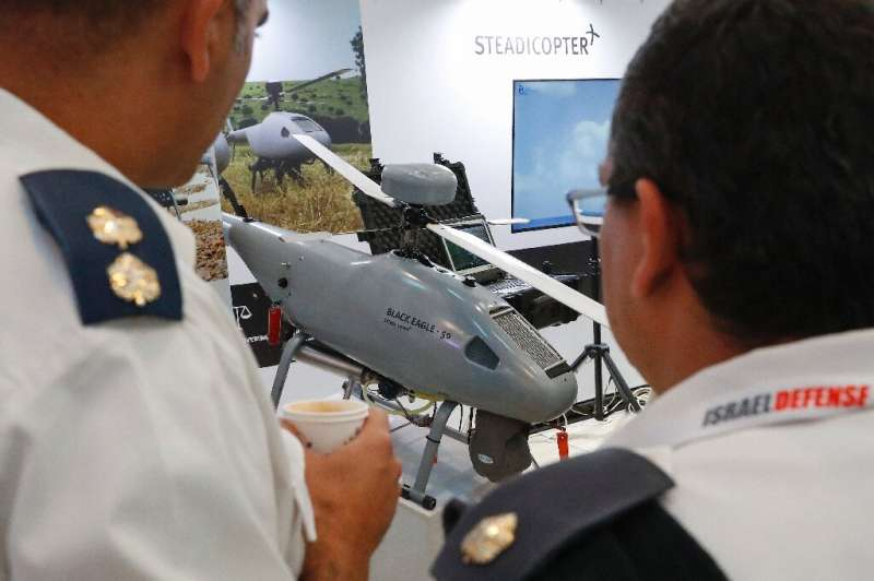 The Orbiter 3, a small tactical unmanned aerial vehicle (STUAV), made by Israeli company Aeronautics