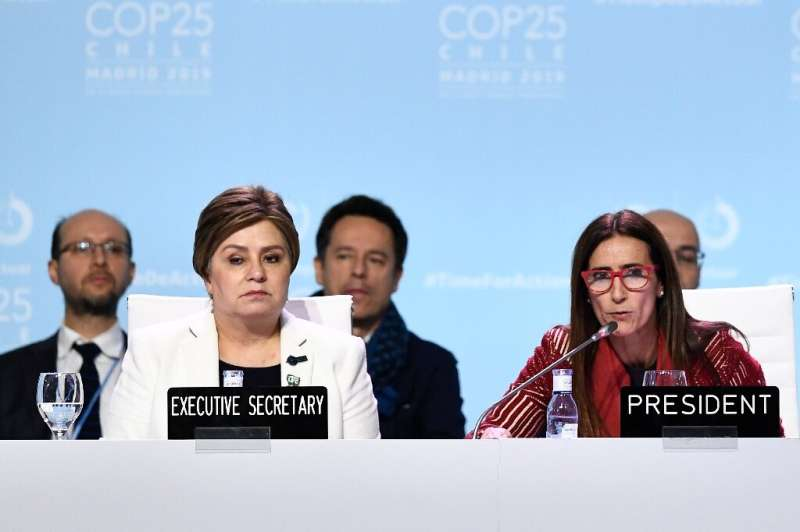 "The Paris treaty goals of capping global warmiThe COP25 deal ""expresses the urgent need"" for new carbon cutting commit"