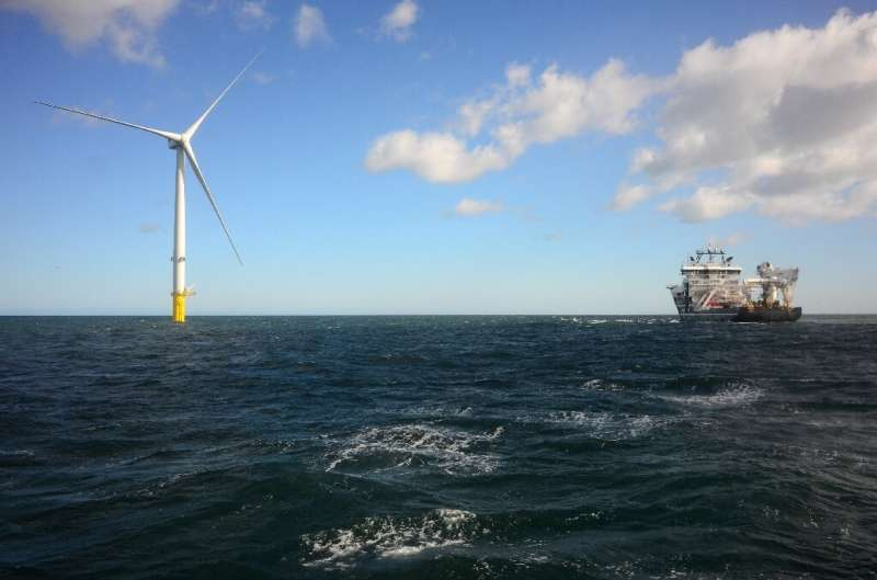 The price of electricity generated by wind turbines, both on and offshore, has fallen to make it competitve with plants that use