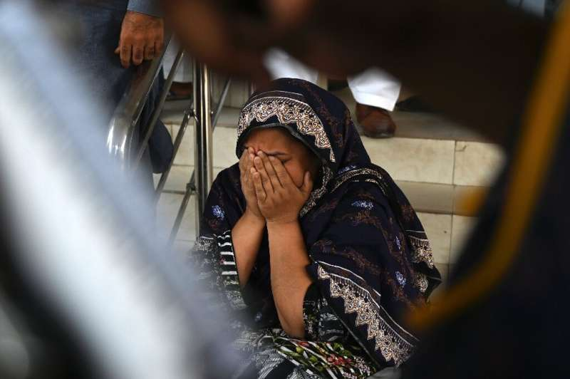 The quake rattled already frayed nerves in the city of Mirpur in Pakistani-controlled Kashmir