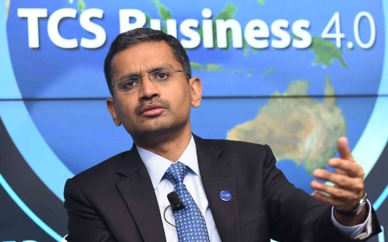 The revenues of software giant TCS are seen as an indicator of the health of India's IT export sector