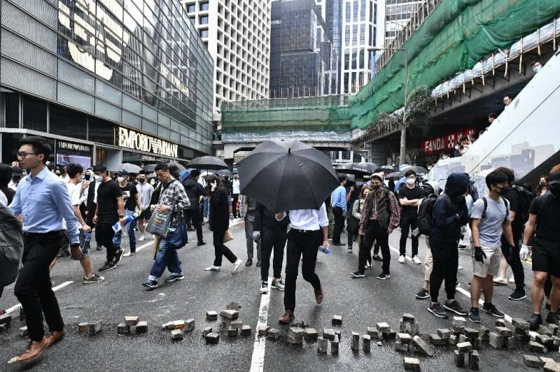 The sale will give Hong Kong, battered by months of pro-democracy protests that have hammered the Hang Seng Index, a much needed