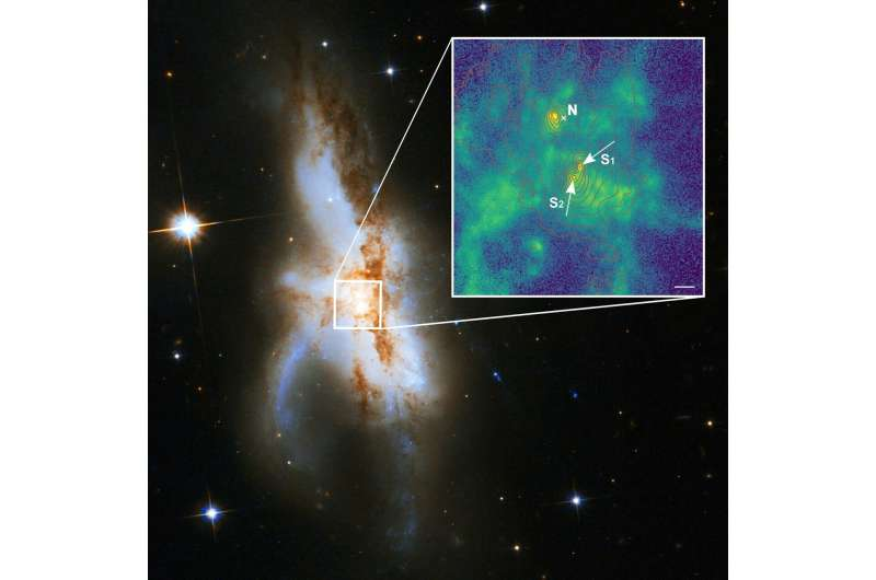 The simultaneous merging of giant galaxies