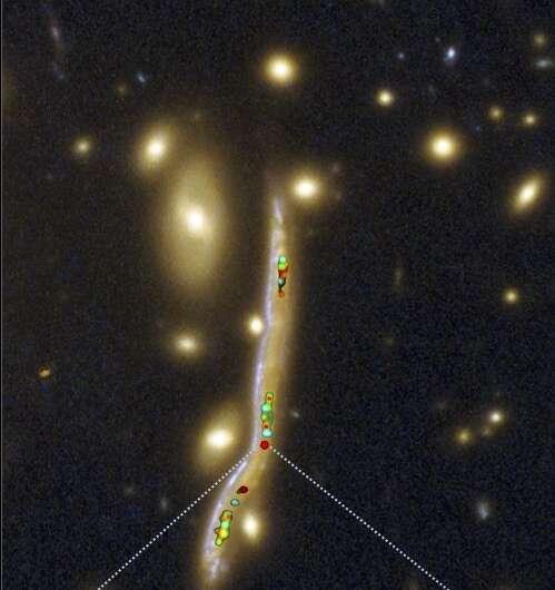 The stellar nurseries of distant galaxies