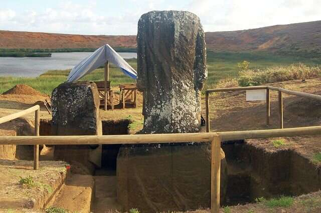 The stone faces and human problems on Easter Island