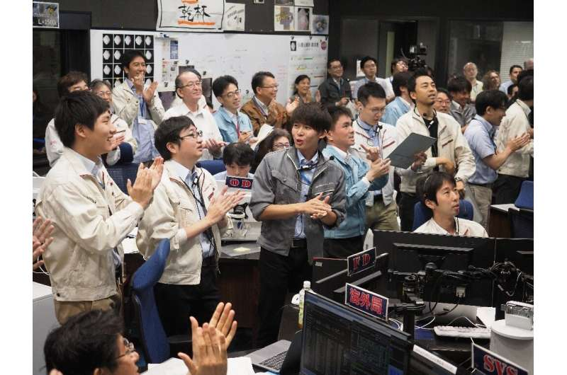 The successful landing is the second time Hayabusa2 has touched down on the distant asteroid Ryugu