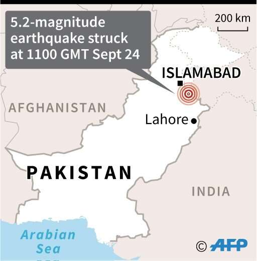 The tremor came as rescuers continued to pick through toppled buildings to reach victims from Tuesday's earthquake