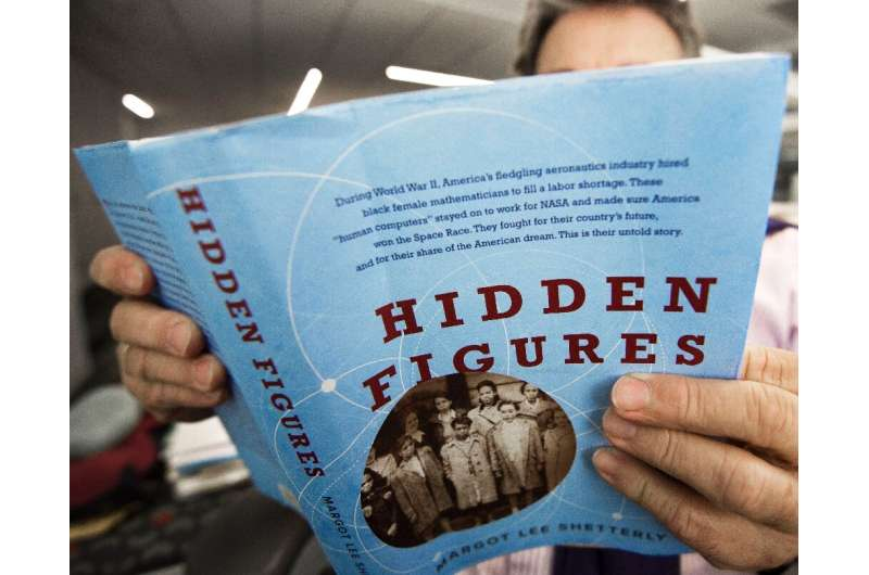 The trio's work was largely forgotten until they were profiled in the book 'Hidden Figures' decades later by author Margot Lee S