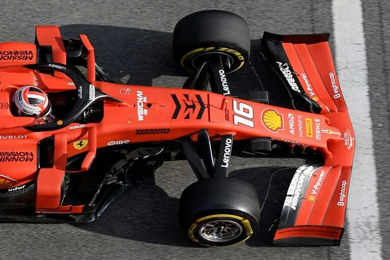 The World Health Organisation objects to the 'Mission Winnow' logo on this year's Ferrari saying the black arrow is reminiscent
