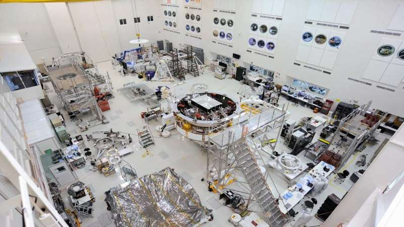 Things Are Stacking up for NASA's Mars 2020 Spacecraft