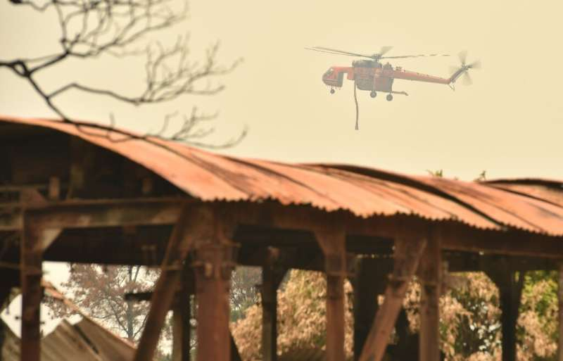 This season's bushfires have killed 10 people, destroyed more than 1,000 homes and scorched more than three million hectares (7.