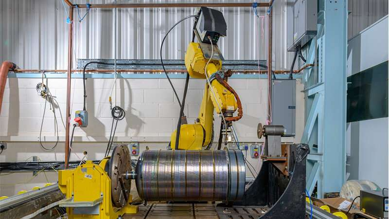 Titanium pressure vessel for space exploration built successfully using the Wire + Arc additive manufacturing process