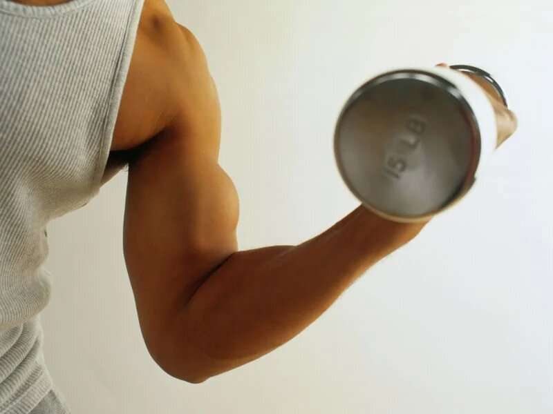 Tone your upper arms with these effective bicep curls