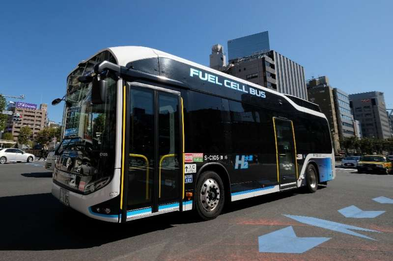 Toyota says fuel-cell technology can also be used in heavy vehicles, including buses and trucks