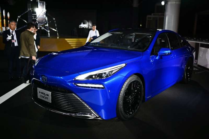 Toyota will include 500 of its new hydrogen-powered Mirai cars in a fleet of vehicles to be used at next year's Tokyo Olympics