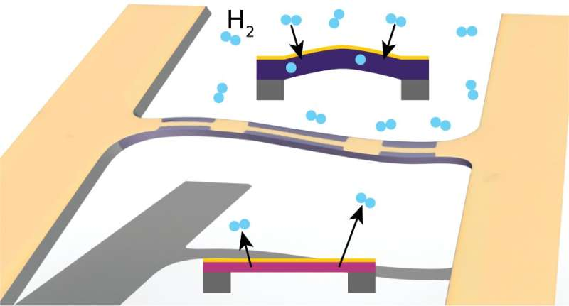 Tuning quantum materials with hydrogen gas