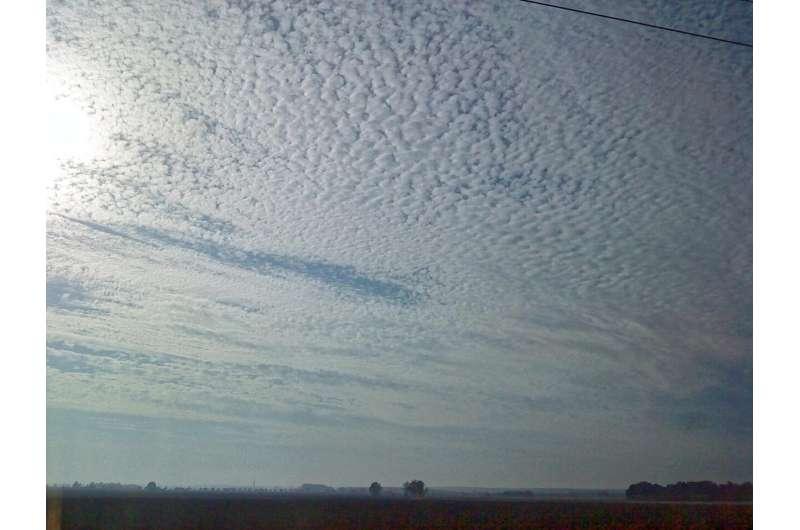 Turbulence creates ice in clouds