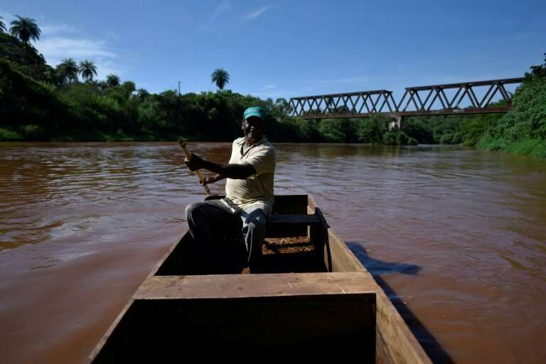 Two months after an upstream tailings dam owned by mining giant Vale burst, local fisherman Jose Geraldo dos Santos says the riv