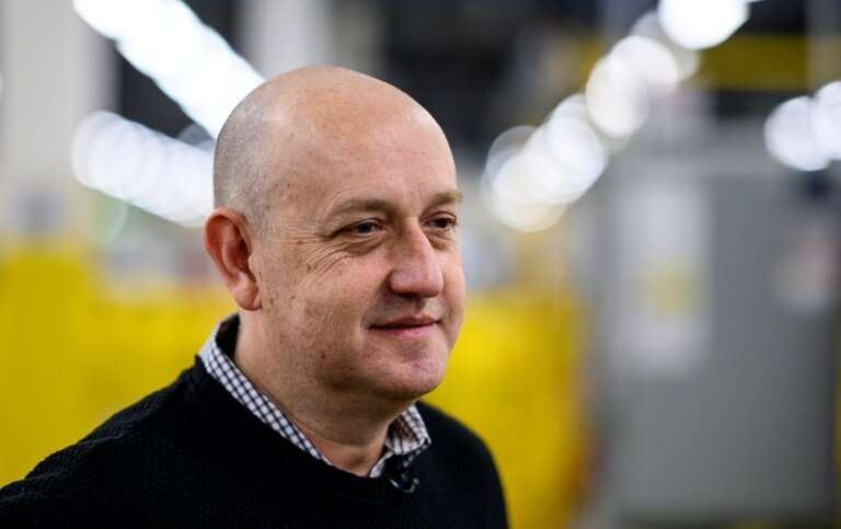 Tye Brady, chief technologist for Amazon Robotics, has worked in the field for three decades