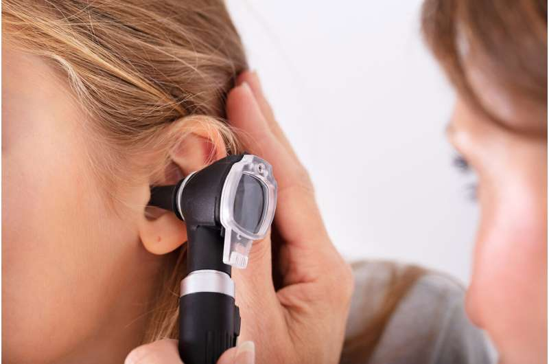 Ultrasound sensor aids diagnosis of middle-ear infection
