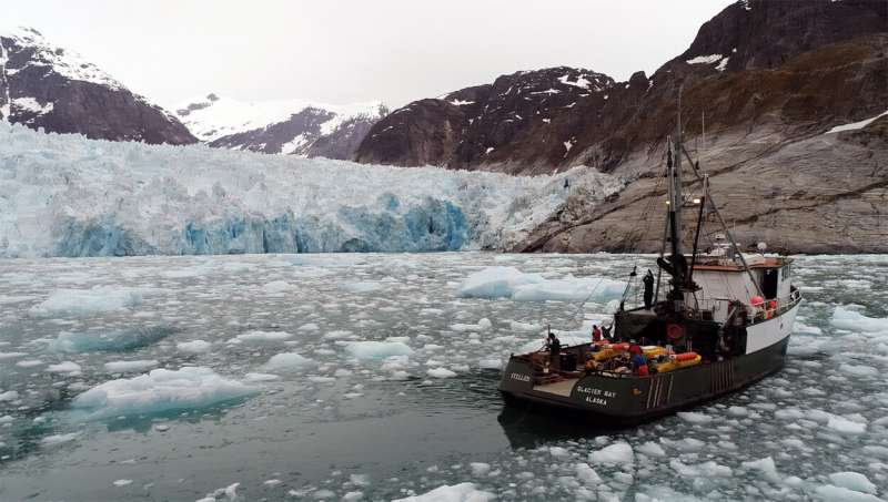 Underwater glacial melting is occurring at higher rates than modeling predicts