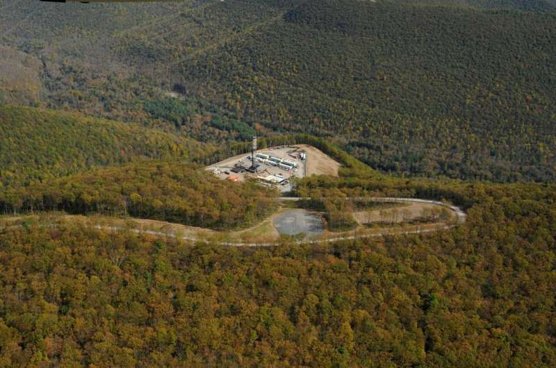UNH research finds shale natural gas development impacting recreationists