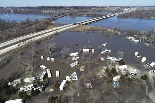 Unprecedented spring flooding possible, US forecasters say