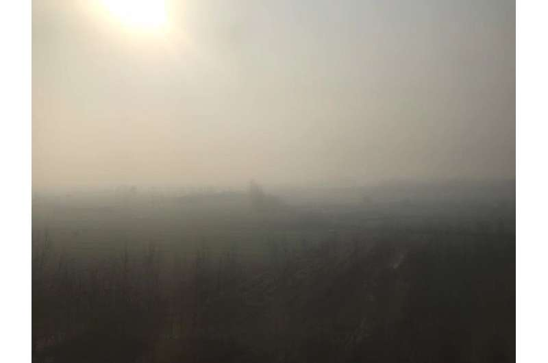Untangling links between nitrogen oxides and airborne sulfates helps tackle hazy air pollution