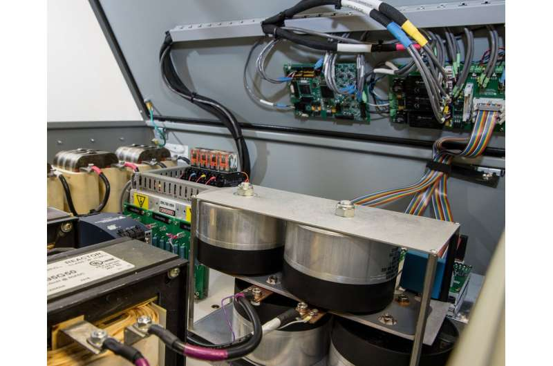Used electric vehicle batteries charge up the grid