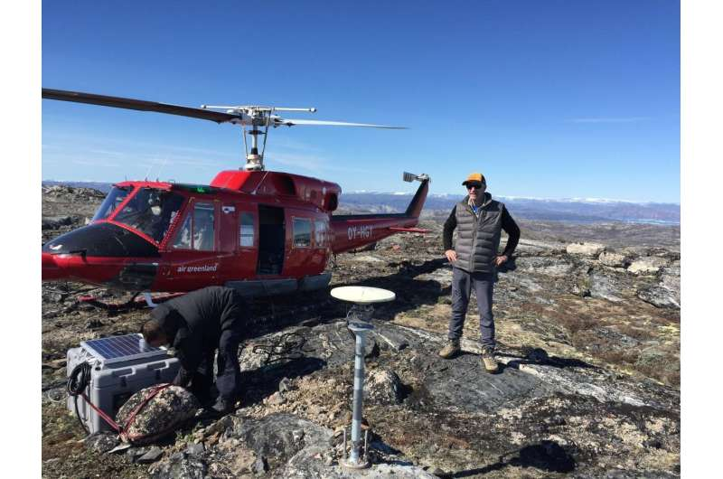 USF geoscientists discover mechanisms controlling Greenland ice sheet collapse