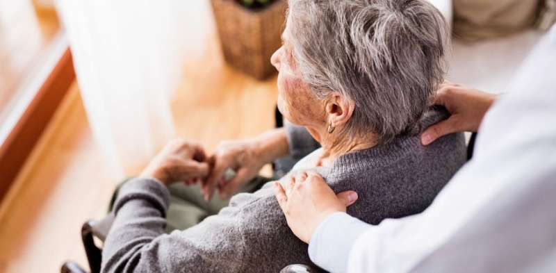 Using technology to support caregivers of older people with dementia