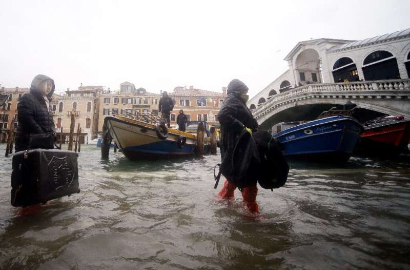 Venice is home to some 50,000 residents but receives 36 million global visitors each year.