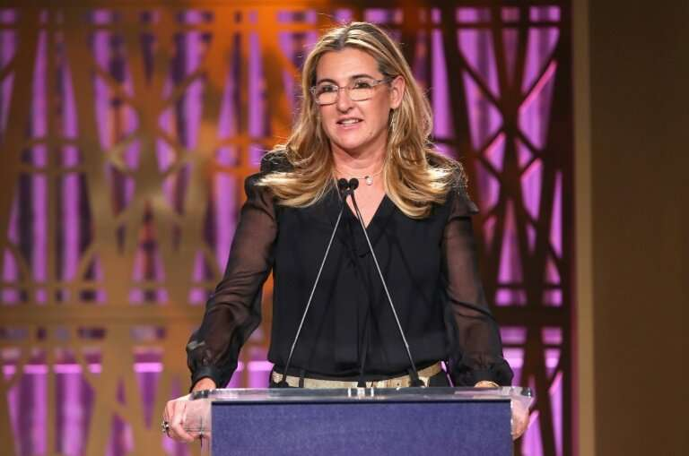 Vice Media CEO Nancy Dubuc, pictured in 2017, announced plans to cut 10 percent of staff at the digital media group that is now