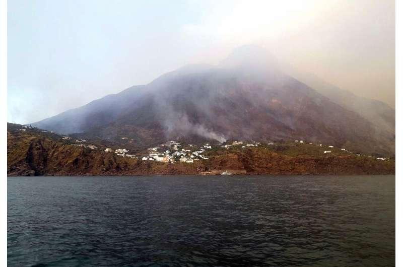 Volcano erupts on Sicily's Stromboli island; 1 person killed
