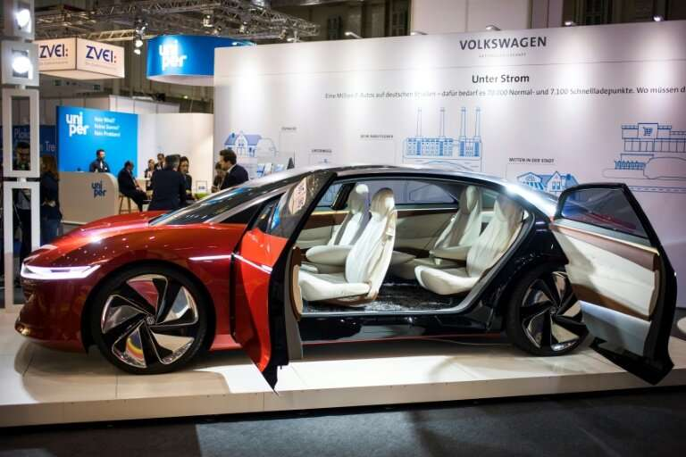 Volkswagen's ID. Vizzion all-electric concept car