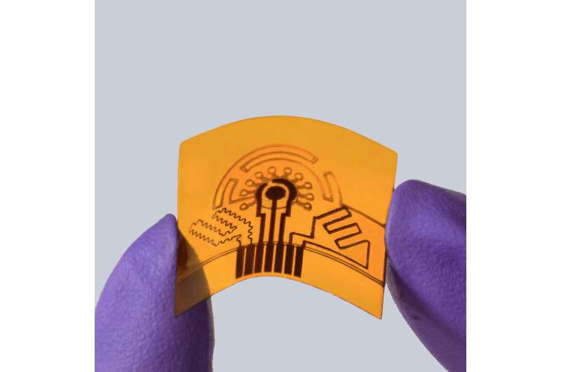 Wearable sweat sensor detects gout-causing compounds