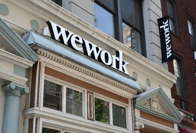 WeWork announced an executive shakeup as it tries to reposition an initial public offering campaign that has sputtered over the