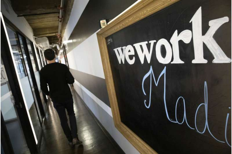 WeWork loses $1.25 billion in third quarter