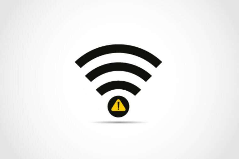 When WiFi is weak, send noise instead