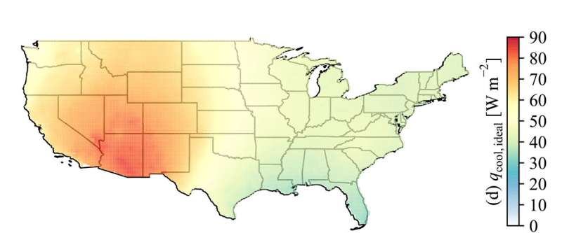 Which climates are best for passive cooling technologies?