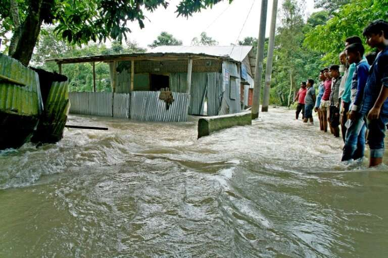 While monsoon rains frequently cause flooding in Bangladesh, the problem has been exacerbated by climate change, which is now af