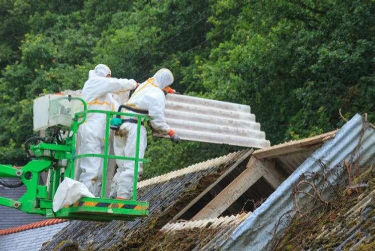 Why asbestos litigation won't go away: Because asbestos won't go away