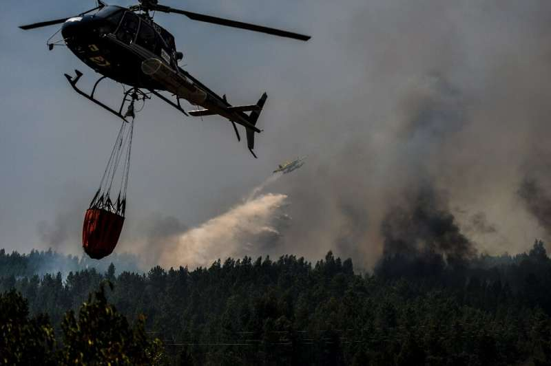Wildfires hit Portugal every summer