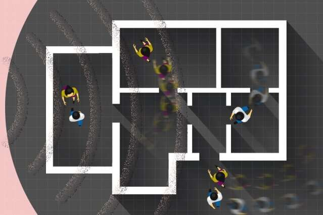 Wireless movement-tracking system could collect health and behavioral data