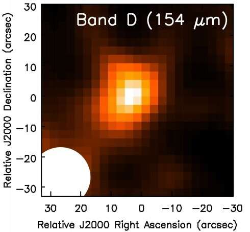 WISE1013+6112 is one of the most luminous infrared galaxies, study finds