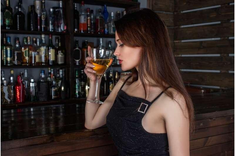 woman bar