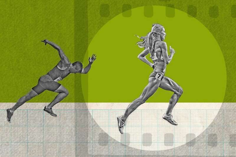 Women close the gender gap in television coverage of Olympics