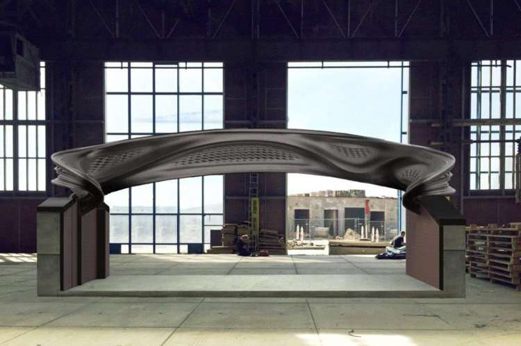 World's first metal 3-D-printed bridge enters test phase