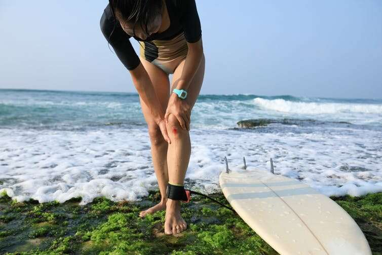 Yes, flesh-eating bacteria are in the warm coastal waters – but it doesn't mean you'll get sick