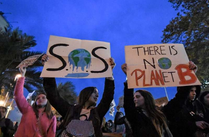 Young activists have held protests worldwide to demand action on climate change